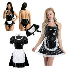 Sexy Womens Cosplay Costumes French Maid Lingerie Outfits Dress Halloween Party