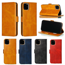 For iPhone XS Max XR 11 Pro Max 7 8 6s Plus Flip Leather Card Wallet Case Cover
