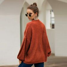 Tops Knitwear Jumper Sweater Long Sleeve Knit Shirt Knitted Pullover Loose