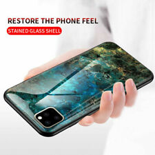 Luxury Marble Tempered Glass Case Cover For Apple iPhone 11 Pro Max XS Max XR 7