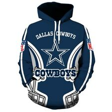 Dallas Cowboys NFL Football Hoodie Sweater Pullover Fan's Edition