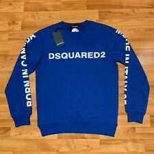 BNWT DSQUARED2 Jumper,Sweater,Pullover, Colour : Blue, All sizes