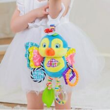 Cute Baby Newborns Bed Stroller Hanging Toys Teether Baby Rattle Mobiles Plush