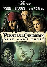 Pirates of the Caribbean: Dead Mans Chest (DVD, 2006, Widescreen) C3 DISC ONLY