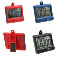 Large LCD Display Digital Magnetic Kitchen Cooking Timer Count-Down Loud Alarm