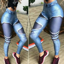 Womens Push Up Yoga Leggings Fitness Jumpsuit Running Pants Sport Active Wear US