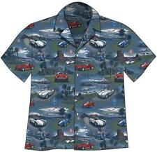 SHELBY COBRA RACING CARS Hawaiian Camp Shirt - David Carey Originals - NEW-SALE!