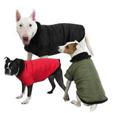 Dog Jacket Coat Clothing Clothes Thermal Lined Sherpa