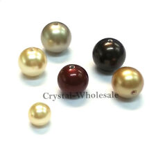 100 Swarovski 5810 Crystal Pearls Round Beads 4mm - 30 colors