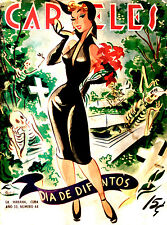 475.Poster sexy pin-up celebrates Day of the Dead.Home bedroom decor.Interior