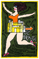 1239.Cuban movie Poster.Moving out.Room Wall art Decor