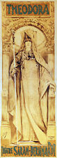 3487 Vintage POSTER.Powerful Graphic Design.Theodora. Sarah-Bernhardt.Art Decor
