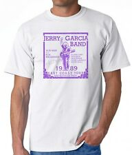 T-SHIRT the jerry garcia band grateful dead '89 1989