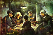 THE POTATO EATERS 1885 DUTCH PAINTING BY BY VINCENT VAN GOGH REPRO