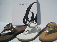 NINE WEST ~SANDALS ~ GOODFORMEO - SIZE 5.5 ~ SHOES