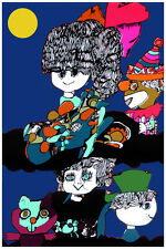 2084 Animated Dolls clown & animals paint quality POSTER. Wall Decorative Art.