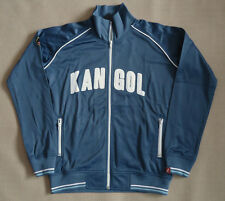 NEW LADIES KANGOL BLUE TRICOT ZIP THRU TRACK TOP SIZES 10,14,16,18