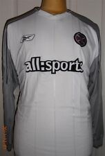 BNWT Heart of Midlothian Football Club away l/s shirt 2004 by Reebok