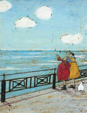 SAM TOFT - HER FAVOURITE CLOUD ART PRINT WITH FRAME OPTIONS OR AS CANVAS PRINT