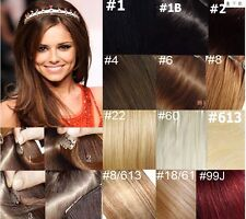 """20""""-26"""" Remy Human Hair 16Clips 8pcs In Extensions Easily Attached Hair,105g"""