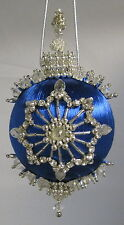 Beaded Satin Christmas Ornament KIT - Glass Menagerie