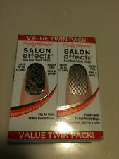 Sally Hansen Salon effects Real Nail Polish Strips Pick Your Style!
