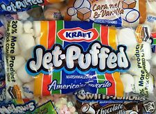 Kraft Jet Puffed Campfire Marshmallows Mallows Squishy Soft Candy ~ Pick One