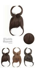 ★NEW 1pc Clip in Long Topcover Fringe Bangs top piece Hair Extension 3 color #1★