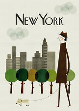 BLANCA GOMEZ - NEW YORK ART PRINT WITH FRAME OPTIONS OR AS GICLEE CANVAS