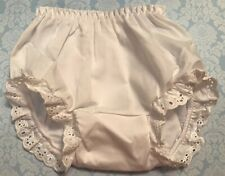 NWOT Baby & Toddler White Eyelet Bloomers Diaper Cover