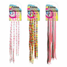 4 Pairs of 60 90 110cms Funky Style Fashion Coloured Shoe Boot Trainer Laces!