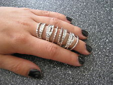 New Hot Rare 2012 Armour Knuckle Hinged Cage Knuckle Silver Ring