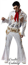 Deluxe Elvis Jumpsuit Costume | Impersonator / Theater / Stage / Show Quality