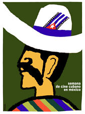 Semana de cine Cubano en Mexico Decor Poster.Graphic Art Interior design 3538