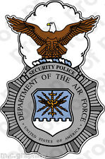 STICKER USAF Air Force Security Police