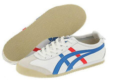 NEW UNISEX ONITSUKA TIGER BY ASICS MEXICO 66 WHITE / BLUE
