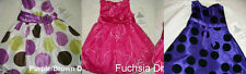 * NWT NEW GIRLS RARE EDITIONS POLKA DOT RIBBON OVERLAY DRESS 2T 3T 4T 6 6X