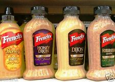 French's Mustard Sandwich Spread Frenchs Dipping Sauce Kosher ~ One Bottle