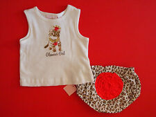 "NWT First Impressions Infant Girls ""Glamour Girl"" 2-Piece Outfit Clothing Set"