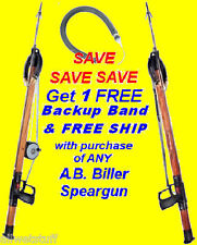 Speargun AB Biller Spear Gun Spearfishing A.B. Biller fish FREE SHIPPING & BAND