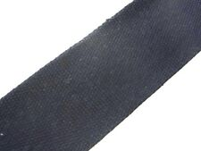 Black (14) Cotton Webbing Belting Fabric Strap Bag Making Thick Quality 25/40mm