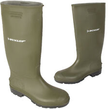 NEW MENS DUNLOP LADIES WOMENS RUBBER WELLINGTONS WELLIES BOOTS UK SIZE 2-12