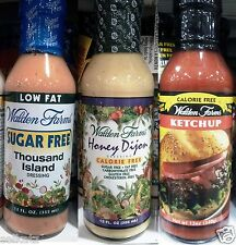 Walden Farms Sauces & Dressings Sugar Free Fat Calorie Free ~ Pick One