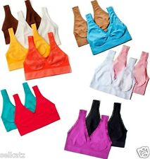 Rhonda Shear Seamless Ahh Leisure Bra Comfy Say Ahhhh ~ Pick One