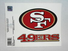 NFL Static Cling Decal NEW!! Car Window! Pick your team-Giants, Saints, etc.