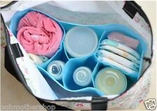 Maternity Nursing Baby Toddler Diaper Bags Inner Organizer Milk Bottle Divider