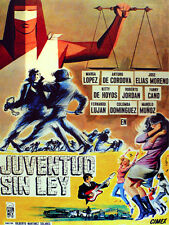 5945.Juventud sin ley Movie POSTER.Interior design. Decoration Art.Decorators