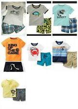 * NEW BOYS 2PC CARTERS MONKEY Summer OUTFIT SET 3 9 12M 2T 3T 4T