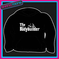 THE BODYBUILDER GYM HOODY HOODIE ALL SIZES & COLOURS