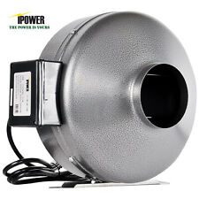 "iPower 4"" 6"" 8"" 10"" 12"" inch INLINE DUCT FAN blower HIGH CFM cool vent exhaust"
